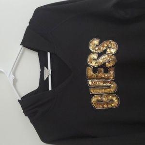 GUESS Embellished Hoodie Ladies XL
